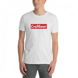T-Shirt bière blanc-...