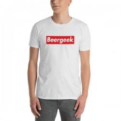 T-Shirt bière blanc -...