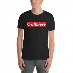 T-Shirt bière noir- Craft...