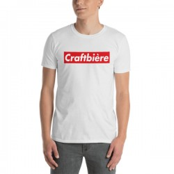 T-Shirt bière blanc - Craft...