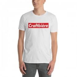 T-Shirt bière blanc - Craft...