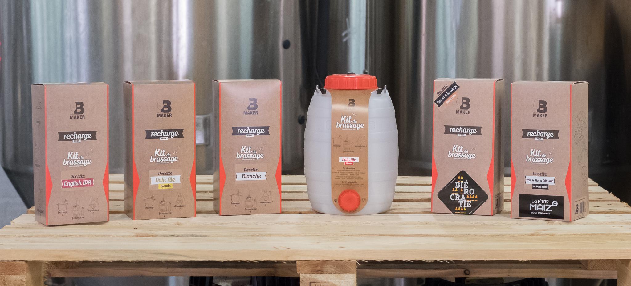 Bmaker kit brassage biere maison