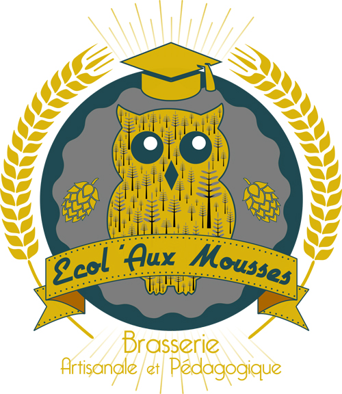 logo ecolauxmousses brasserie atelier brassage